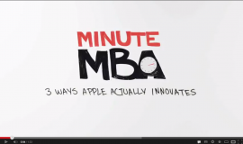 Minute MBA – Apple